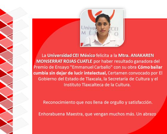 Mtra. Ana Karen Monserrat Rojas Cuautle