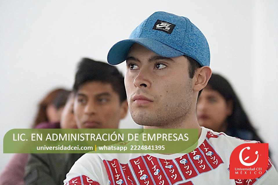 CEI licenciatura en administración de empresas