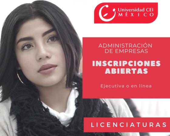 Licenciatura en Administración de Empresas CEI
