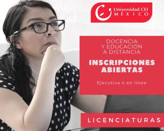 Licenciatura en Docencia y Educación a Distancia
