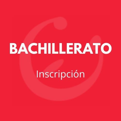 BACHILLERATO CEI INSCRIPCIÓN