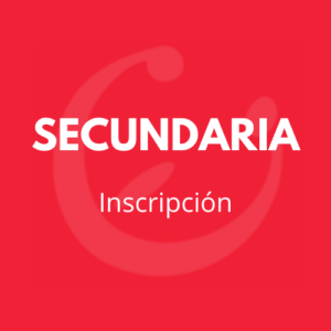 CEI INSCRIPCION SECUNDARIA