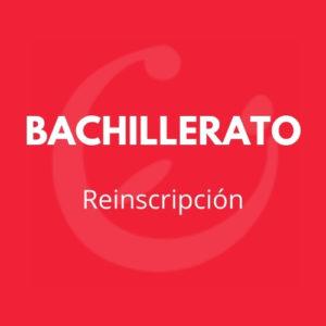 REINSCRIPCIÓN BACHILLERATO CEI