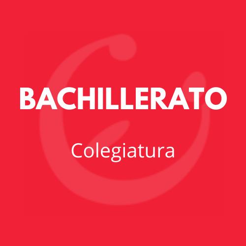 COLEGIATURA BACHILLERATO CEI