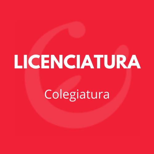 Colegiatura licenciatura CEI